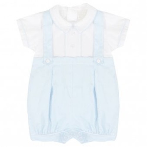 BOYS ALL IN ONE DUNGAREE SHORTS SET ALSO IN NAVY BLUE